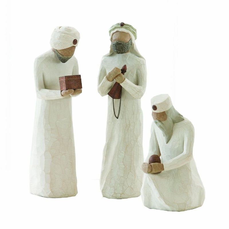 THE THREE WISEMEN NATIVITY WISE MEN Demdaco Willow Tree Figurine By Susan Lordi