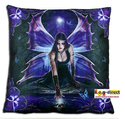 Anne Stokes Myth & Fantasy IMMORTAL FLIGHT CUSHION printed Satin Cushion Pillow