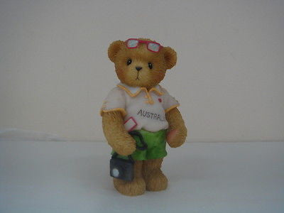 ENESCO CHERISHED TEDDIES WE'RE ALL CHEERING FOR YOU IN 2000 MATILDA NEW IN BOX