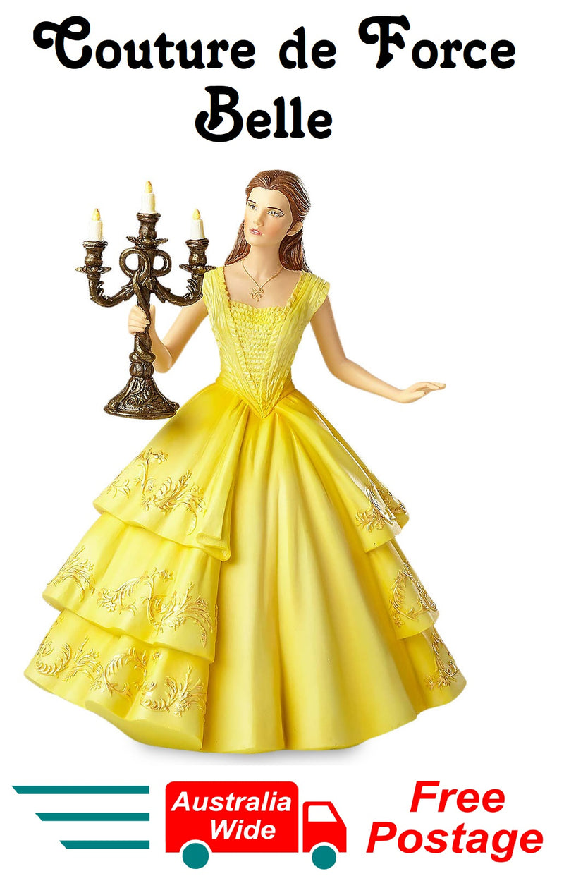 Disney Showcase Courture De Force Belle Holding Candle 4058293