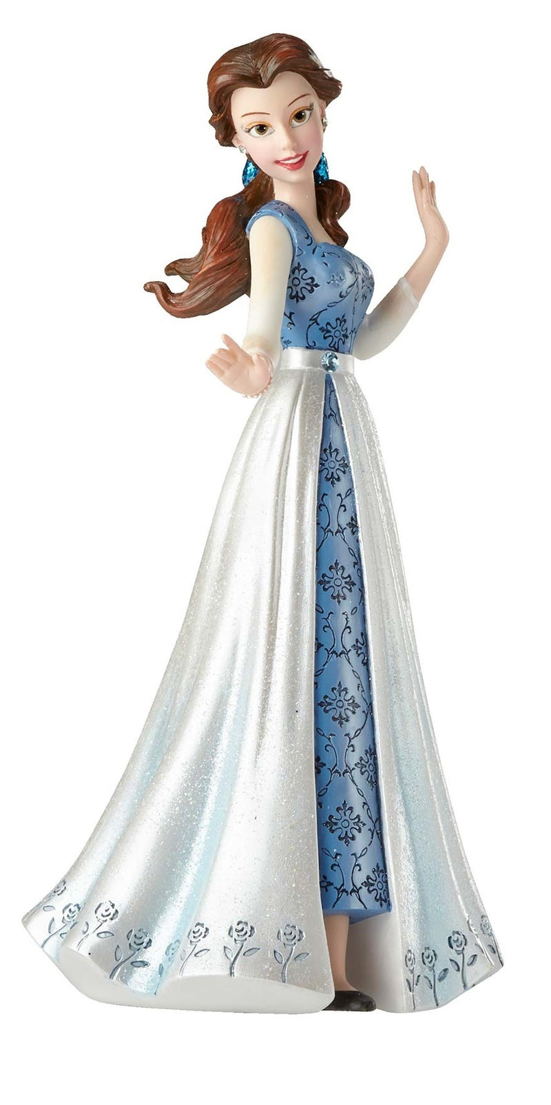 Disney Showcase Courture De Force Belle in Blue Dress 4055793