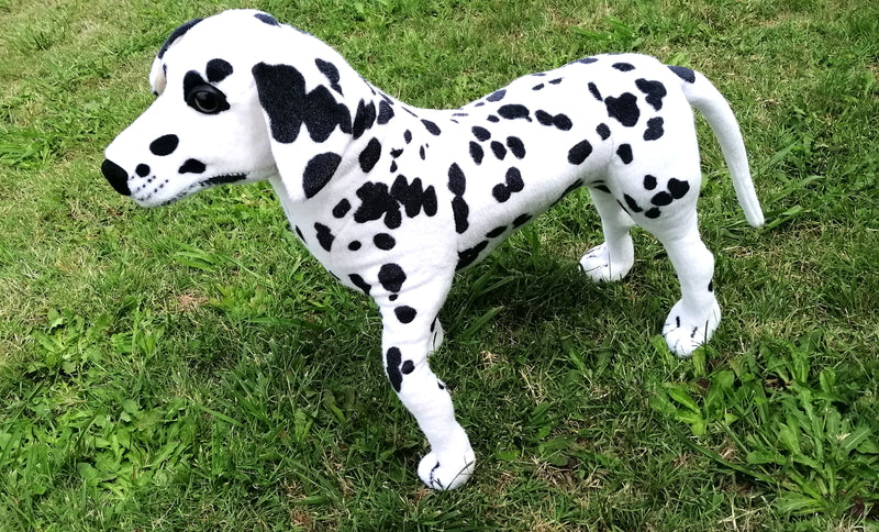 COLLECTABLE CUTEAZZ PLUSH SOFT TOY STUFFED JUMBO GIANT DALMATIAN DOG 50CM HW650