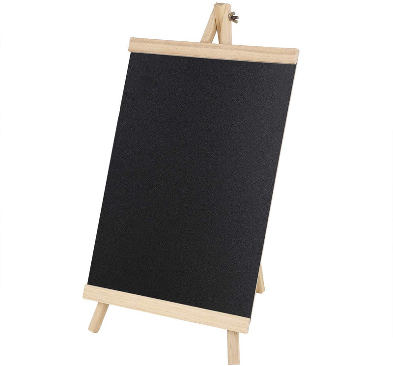 2X Easel Notice Board Chalkboard Blackboard Message Kitcken Wedding Office Large