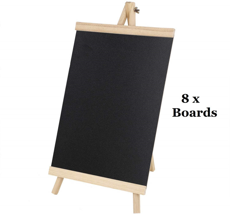 8X Easel Notice Board Chalkboard Blackboard Message Kitcken Wedding Office Large