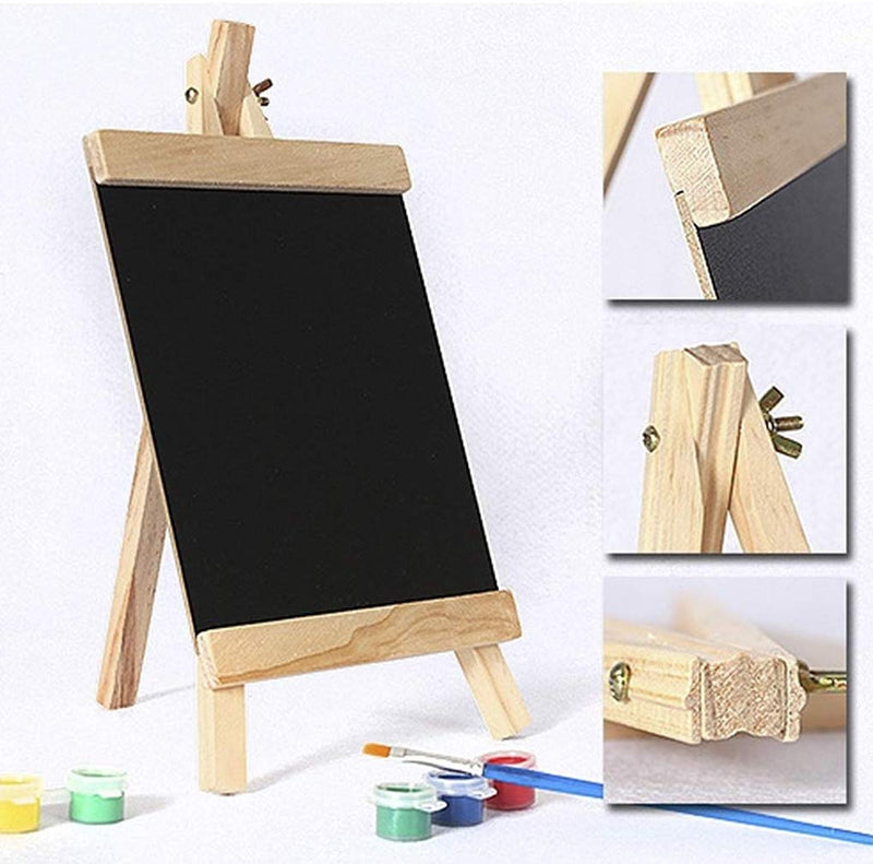 4X Easel Notice Board Chalkboard Blackboard Message Kitcken Wedding Office Large