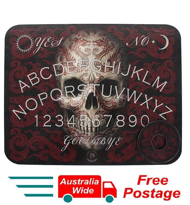 ORIGINAL ANNE STOKES OUIJA SPIRIT TALKING BOARD ORIENTAL SKULL NEW IN BOX