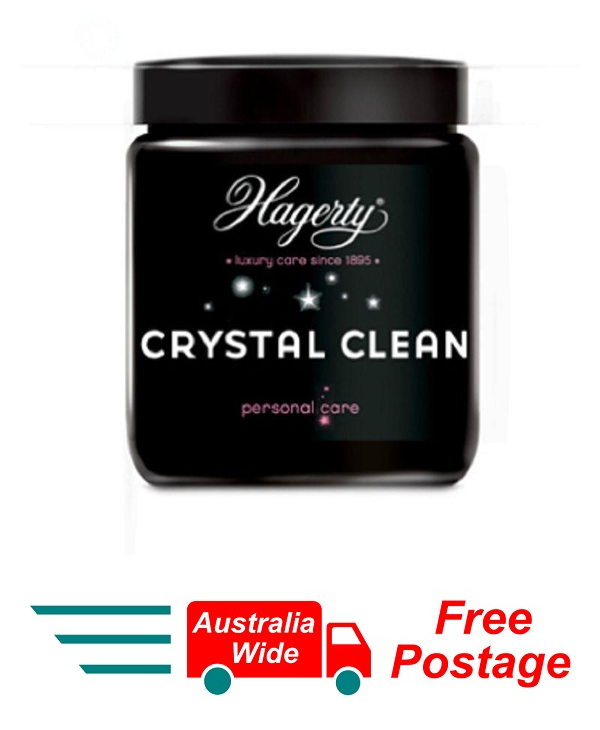 HAGERTY CRYSTAL CLEAN FOR CRYSTAL & GLASS AND GLASS LARGE ITEMS 150ML