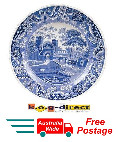SPODE BLUE ROOM PLATE CASTLE MADE IN ENGLAND PORTMEIRION GROUP