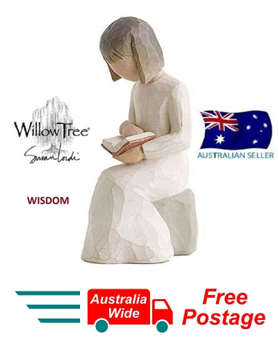 WISDOM Demdaco Willow Tree Figurine By Susan Lordi BRAND NEW IN BOX