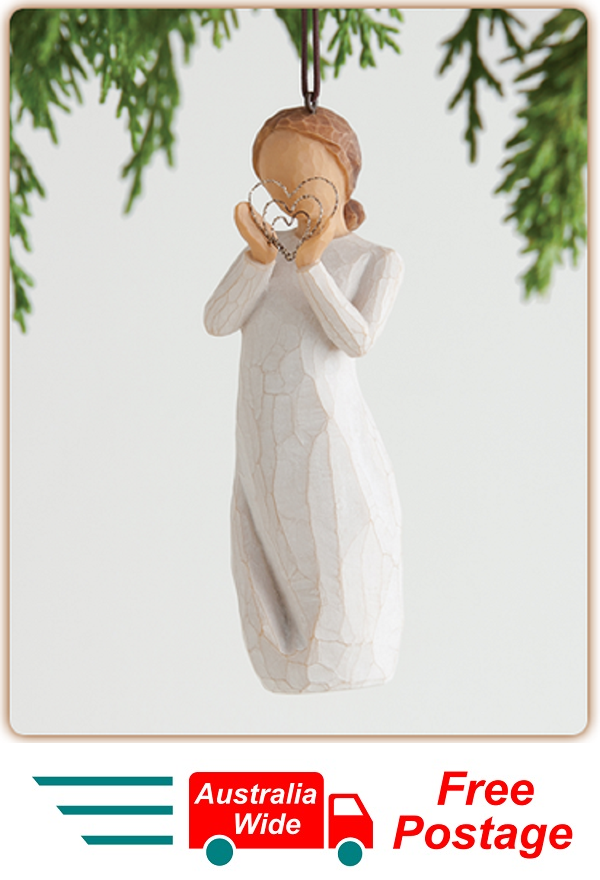 LOTS OF LOVE ORNAMENT Willow Tree Figurine By Susan Demdaco Lordi NEW IN BOX