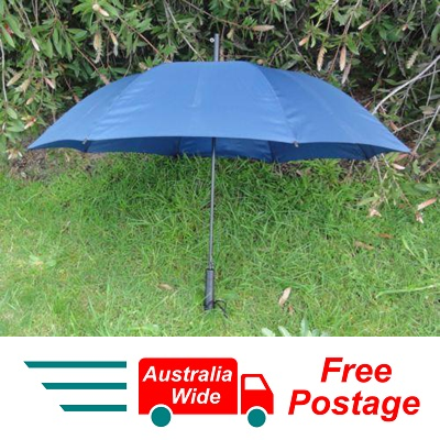 CLASSIC NAVY BLUE UMBRELLA 100CM DIAMETER AUTOMATIC OPEN