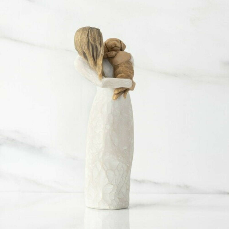 ADORABLE YOU (GOLDEN DOG) Demdaco Willow Tree Figurine By Susan Lordi BRAND NEW 28039