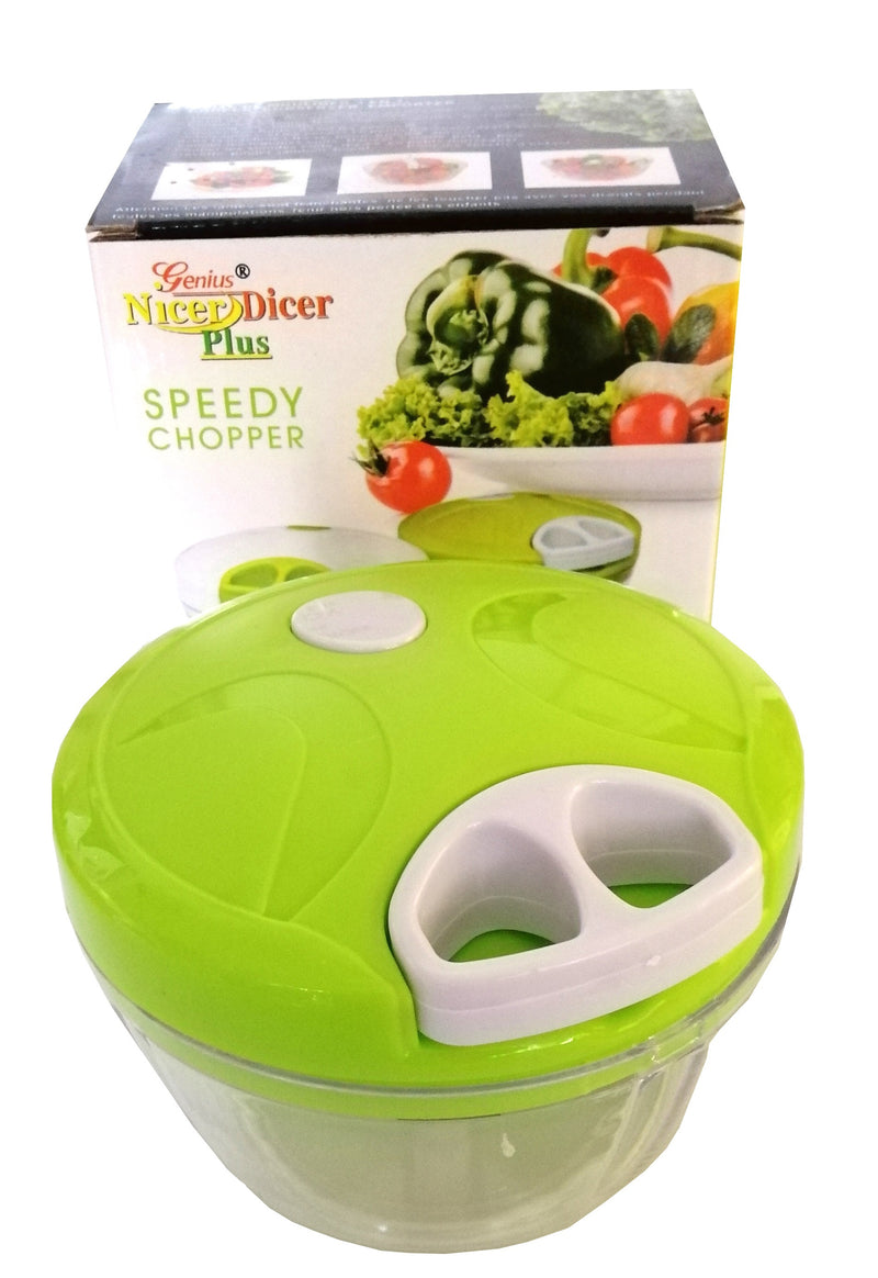 Easy Pull Manual Food Processor Vegetacle Chopper Slicer Grinder Dicer HW662