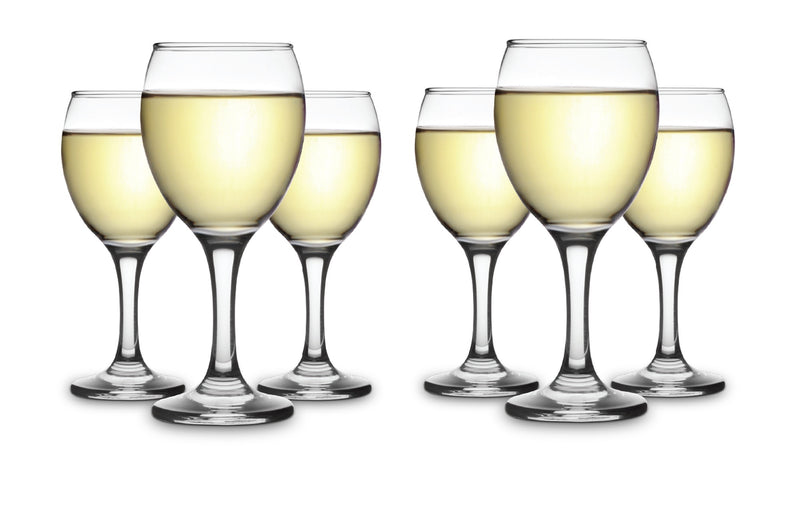 CLASSICA ART CRAFT CADEN SET OF SIX WHITE WINE GLASSES 245ml