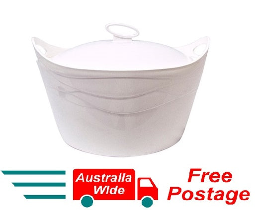 Flamingo Thermo Casserole Food Warmer Insulated Heat Lock Technology 3.5L