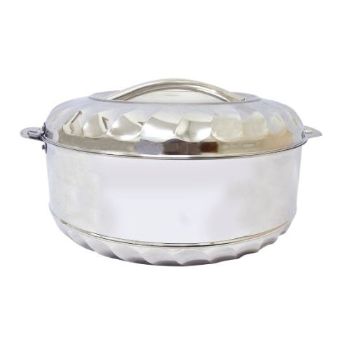 MAX FRESH STAINLESS STEEL 15 LITRE FOOD WARMER HOT POT WITH TWIST LOCK LID