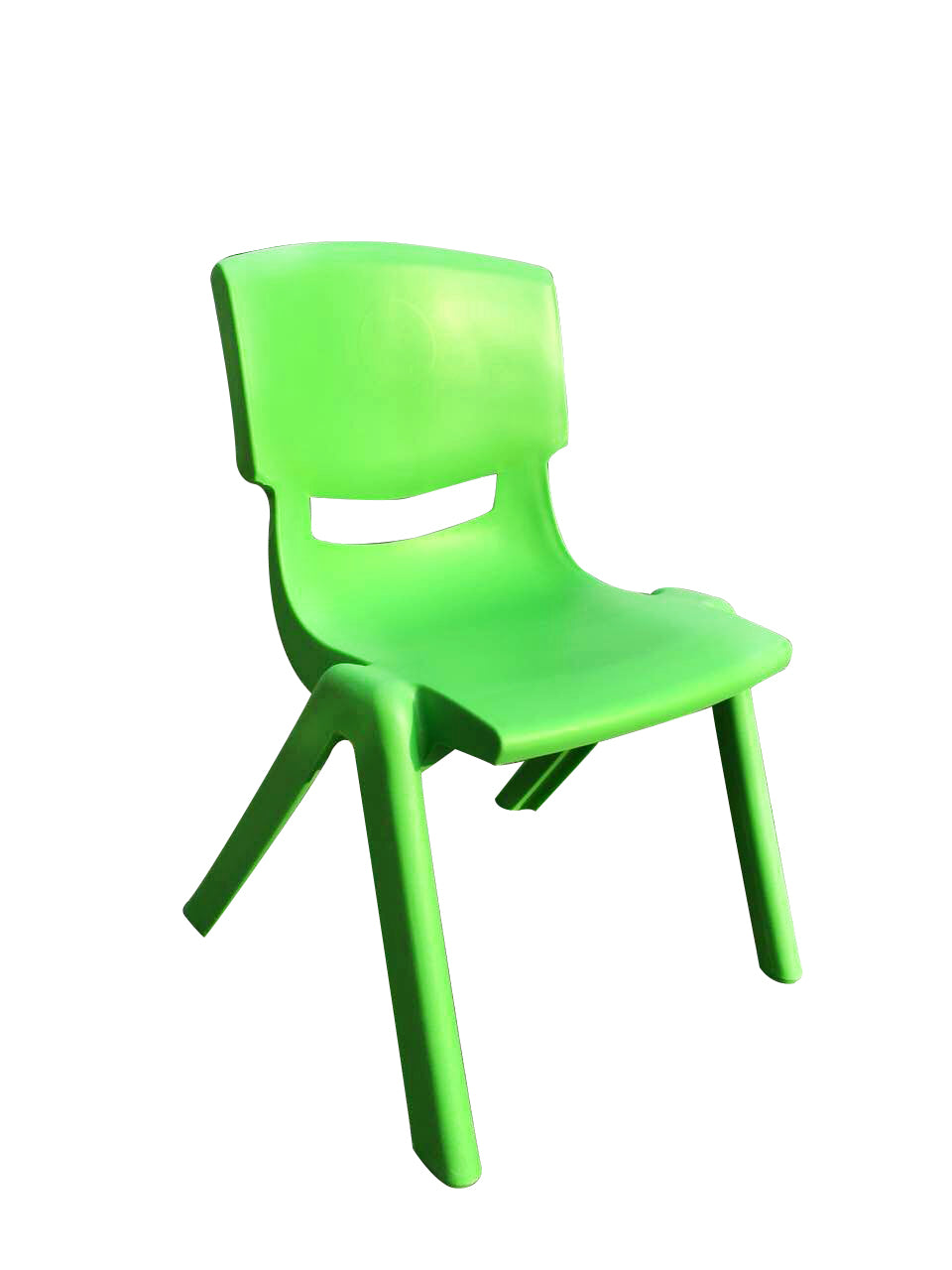 SET OF 6 GREEN CHILDRENS CHAIRS FOR CHILDRENS TABLE HOLDS UP TO 100KG
