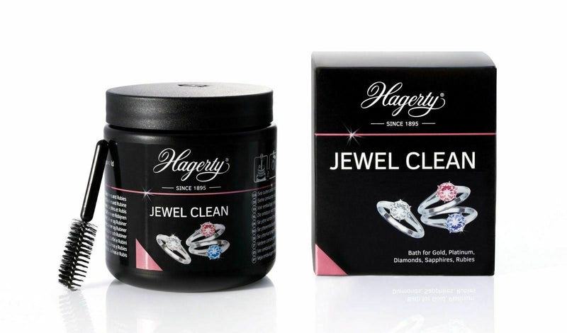 HAGERTY JEWEL CLEAN 170ML DIP BATH JEWELLERY CLEANER FOR JEWELLERY DIAMONDS