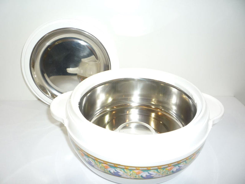 Copy of KARISHMAKARISHMA FOOD WARMER INSULATED STAINLESS STEEL CASSEROLE KEEPS FOOD WARM 3PC SET