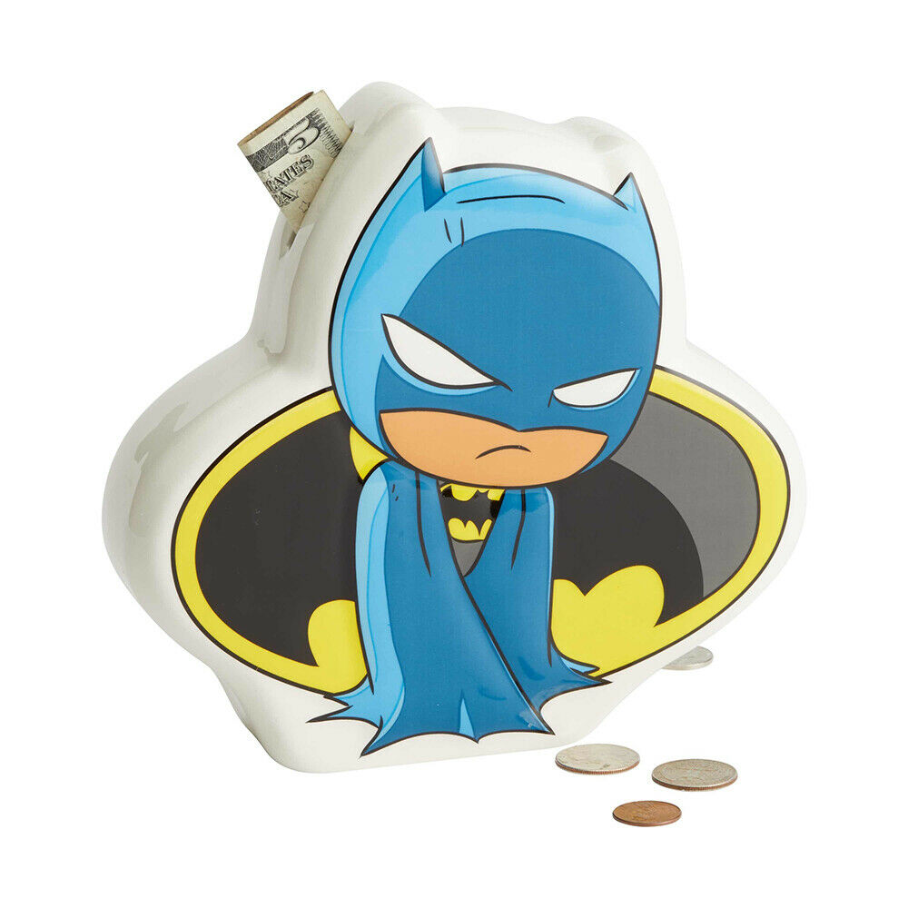DC Super Friends Batman Money Coin Bank Box Superhero 6003740