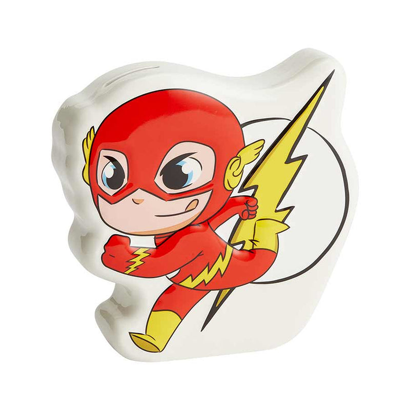 Super Friends The Flash Money Coin Bank Box Superhero 6003742