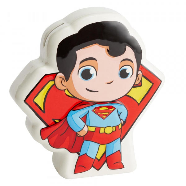 Super Friends Superman Money Coin Bank Box Superhero 6003740
