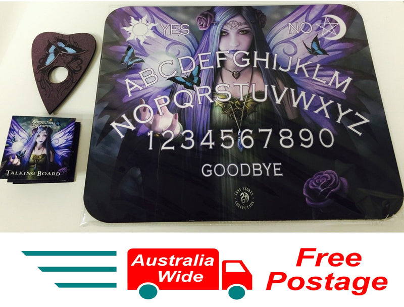ORIGINAL ANNE STOKES OUIJA SPIRIT TALKING BOARD MYSTIC AURA NEW IN BOX