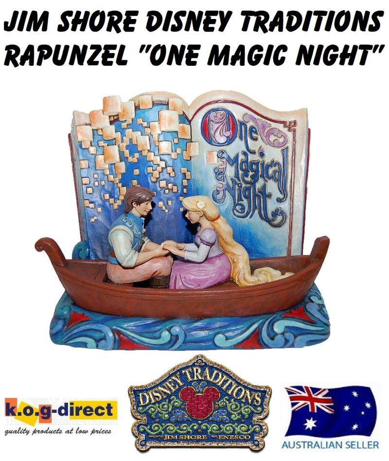 JIM SHORE RAPUNZEL ONE MAGICAL NIGHT THE STORYBOOK OF TANGLED DISNEY TRADITIONS