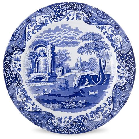SPODE BLUE ITALIAN SET OF 30cm PASTA BOWL PORTMIRION GROUP BLI3887