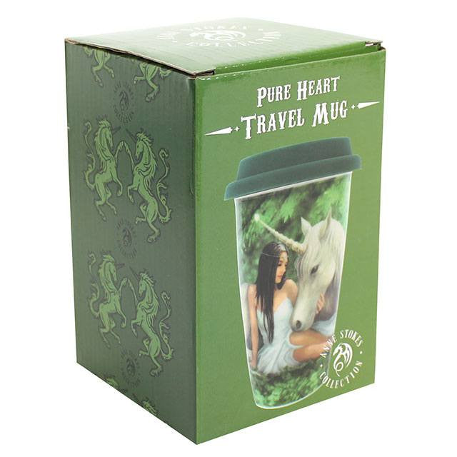 Anne Stokes Collection Pure Heart Travel Mug