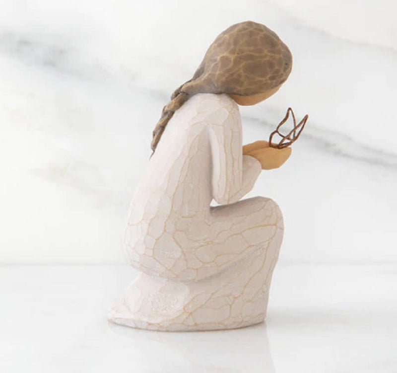 QUIET WONDER Demdaco Willow Tree Figurine By Susan Lordi BRAND NEW IN BOX