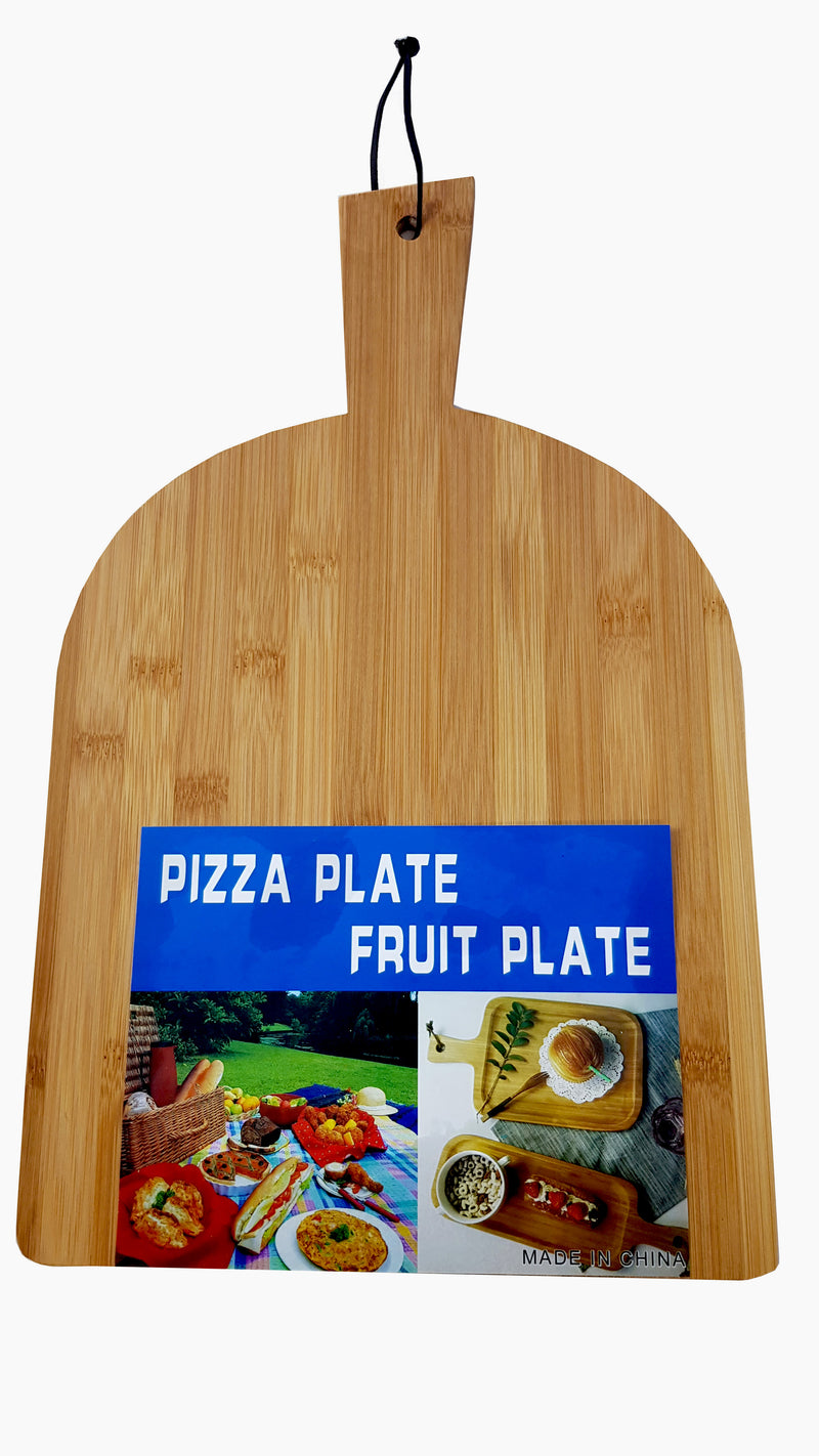 Wooden Pizza Cheese Fruit Serving Trey Plate Chopping Board Rectangle HW-321