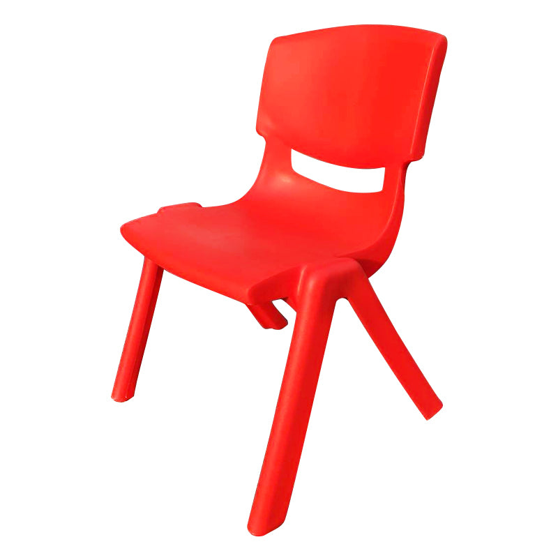 SET OF 4 RED CHILDRENS CHAIRS FOR CHILDRENS TABLE HOLDS UP TO 100KG