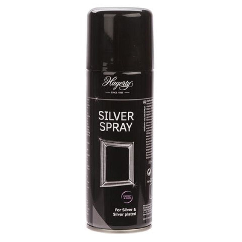 HAGERTY SILVER SPRAY FOR SILVER AND SILVER PLATED ITEMS 200ML