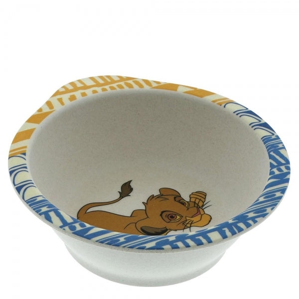 5 Piece Disney Enchanting Simba Organic Dinner Set Eco Freindly