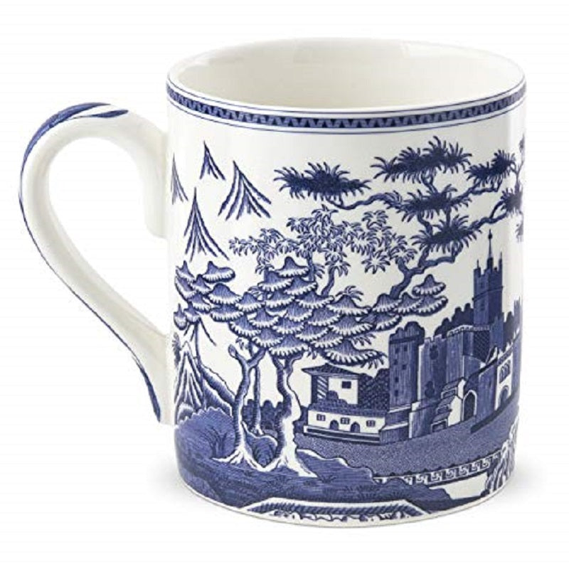 SPODE BLUE COFFEE TEA MUG ARCHIVE GOTHIC CASTLE PORTMEIRION GROUP