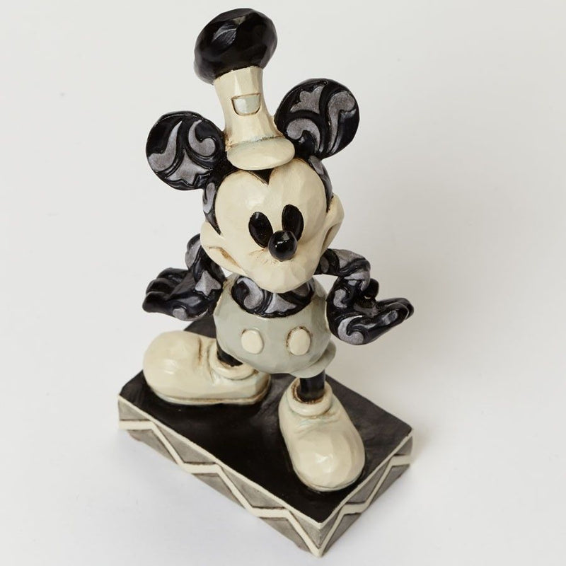 DISNEY SHOWCASE TRADITIONS JIM SHORE MICKEY MOUSE THE ORIGINAL FIGURINE NEW 4045245