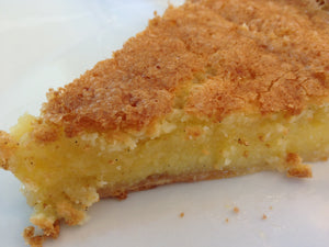 "Chess Pie - ""Its a Southern Thing"" (Butter, Sugar, Eggs, Cornmeal & Vinegar)"