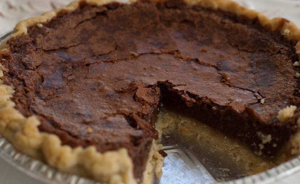 Ghirardelli Chocolate Pie with Pecans (Weddings)