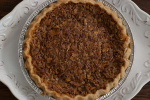 Steeplechase Derby Pie - A Pecan pie with Chocolate Chips & Bourbon