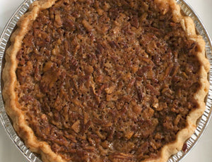 Steeplechase Derby Pie (Pecans, Chocolate Chips, Bourbon)