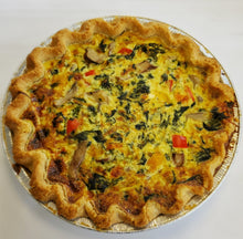 Load image into Gallery viewer, Vegetable Quiche