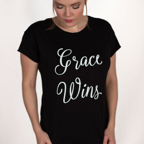Grace Wins - Rocker Tee