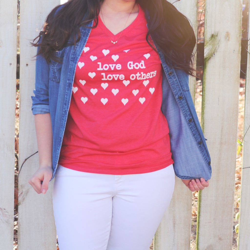 Love God - Love Others - Short Sleeved Tee