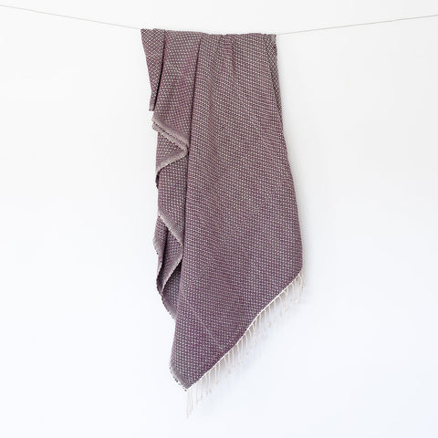 Mika Throw - Plum