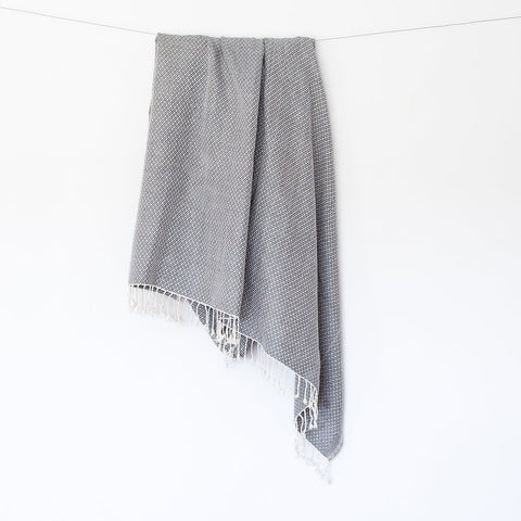 Mika Throw - Light Grey