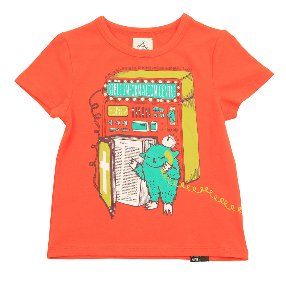 Unisex Orange Graphic Tee - AMNOS Bible Center