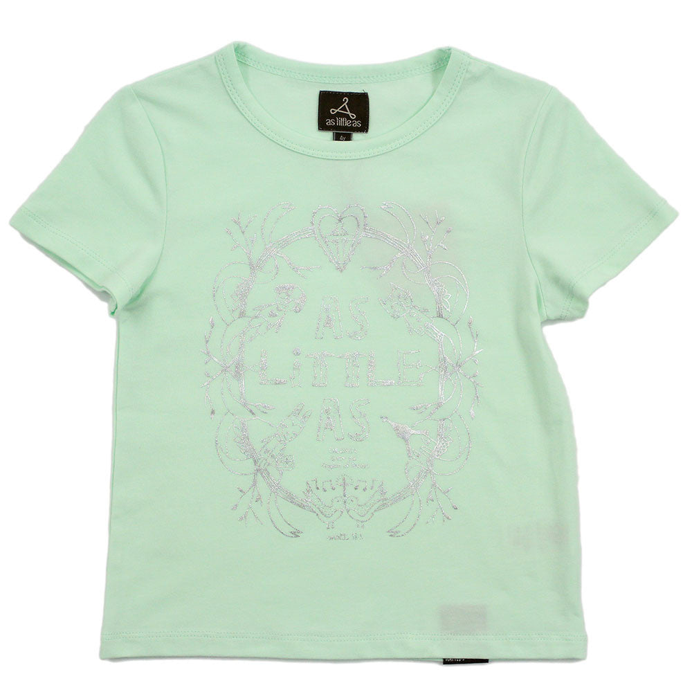 Boy Green Foil Graphic Tee - As Little As Creatures