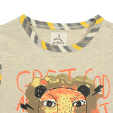 Boy Yellow 2-in-1 Graphic Tee -