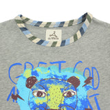 Boy Grey 2-in-1 Graphic Tee -
